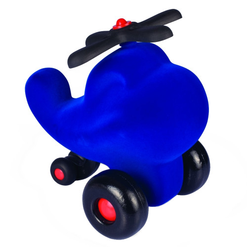 "Rubbabu Soft and Natural Toys: Blue Helicopter (9"")"