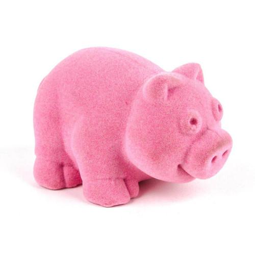 """Rubbabu Soft and Natural Toys: Pink Pig (~4"""")"""