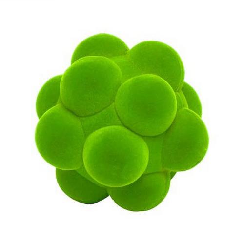 "Rubbabu Soft and Natural Toys: Green Bubble Ball (4"")"