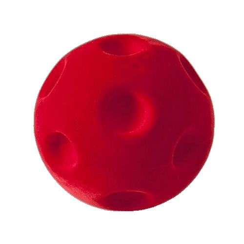 """Rubbabu Soft and Natural Toys: Red Crater Ball (4"""")"""