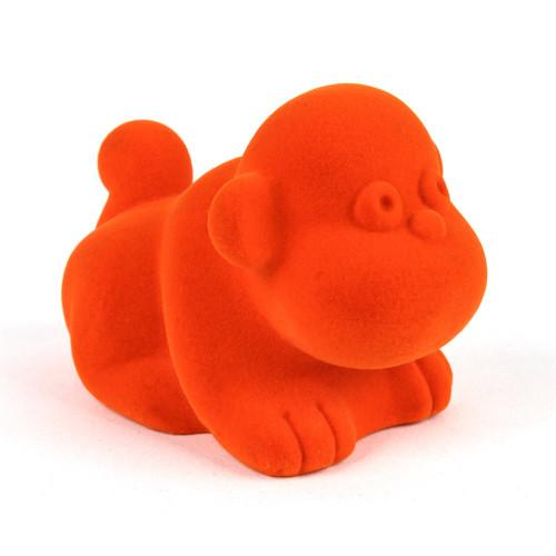 """Rubbabu Soft and Natural Toys: Orange Monkey (~4"""")"""