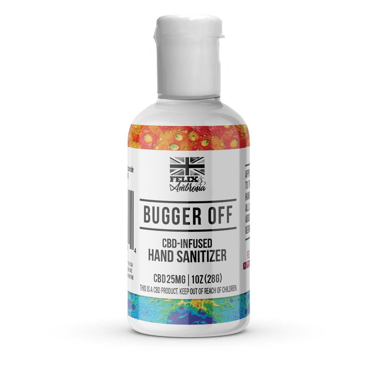 Bugger Off CBD Hand Sanitizer