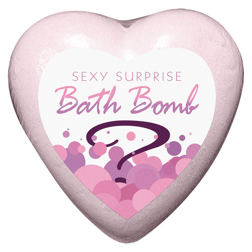 Heart Shaped Sexy Surprise Bath Bomb by Kheper Games