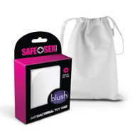Safe Sex Antibacterial Toy Bag by Blush Novelties-Small