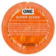 Individual Super Studs Condoms by ONE
