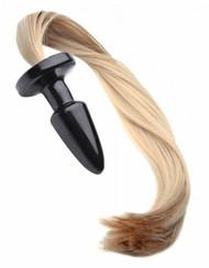 Tailz Blonde Pony Tail Anal Plug by XR Brands