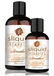Organics Sensation Stimulating Lubricant by Sliquid