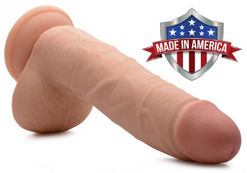 Andrew SkinTech Realistic 9 Inch Dildo by TrueTouch