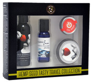 Hemp Seed Tasty Travel Collection Gift Set by Earthly Body-Strawberry