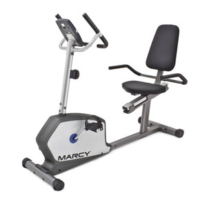 The Marcy Recumbent Bike NS-1201R is a convenient low-impact method of getting an intense cardio workout