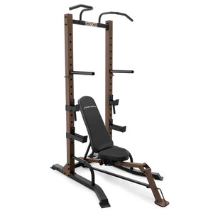 The Steelbody STB-98502 Power Tower with Foldable Bench is essential to building the best and most efficient home gym