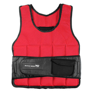 Bionic Body 15 lb. Weighted Vest brings added weight to your run or workout - use it to condition and tone your body - front