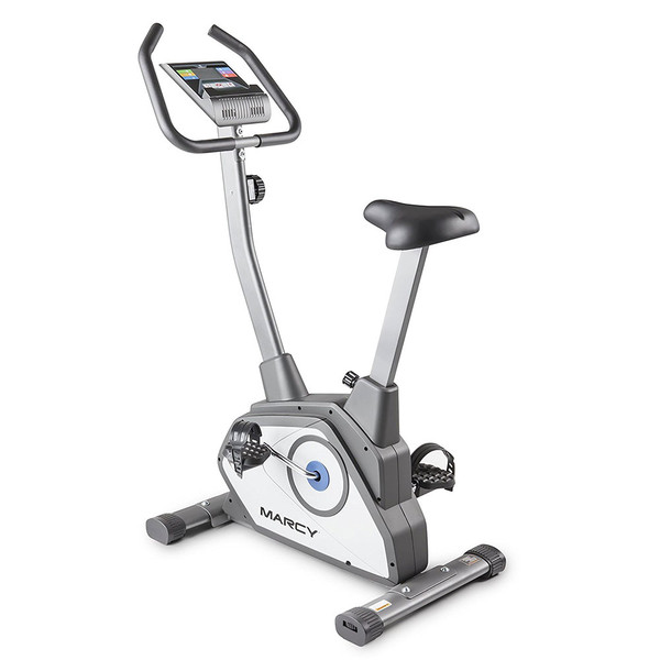 The Magnetic Upright Bike NS-40504U by Marcy makes for a great cardio workout