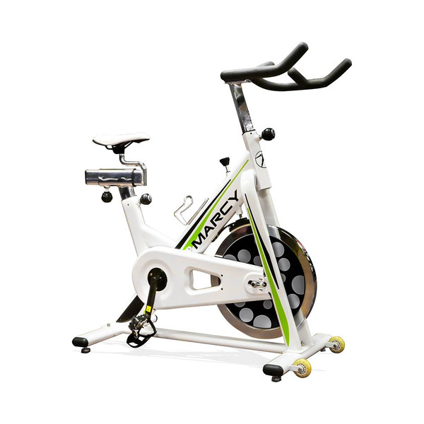 The Marcy Deluxe Club Revolution Cycle NSP-122 brings a High Intensity Interval Conditioning workout to your home gym