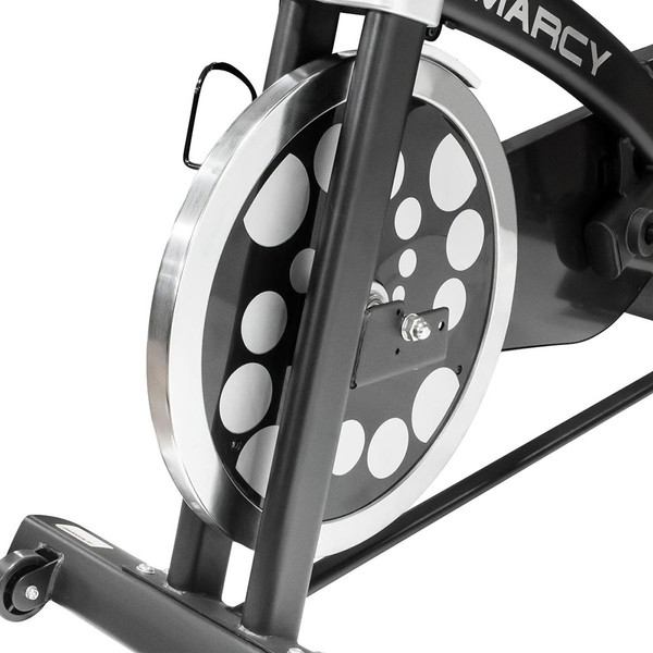 The Marcy Revolution Cycle JX-7038 uses a flywheel for tension