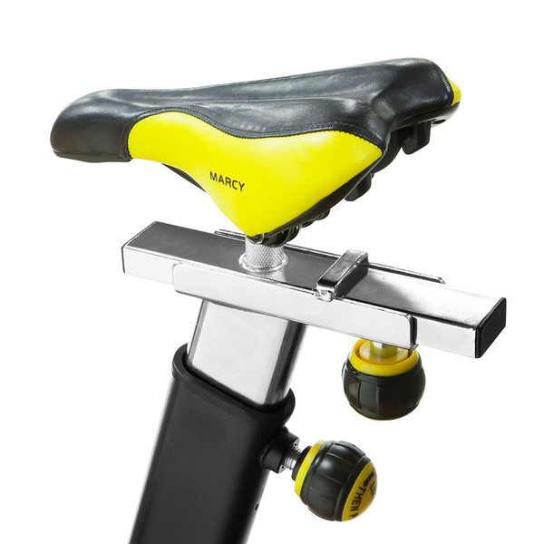 The Marcy Revolution Cycle JX-7038 has an adjustable seat to fit every user