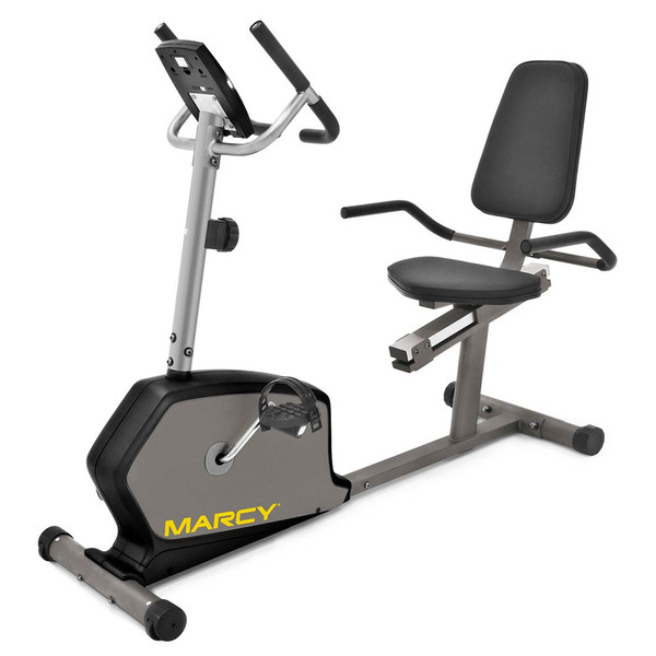 The Marcy Recumbent Bike NS-1305R is a convenient low-impact method of getting an intense cardio workout