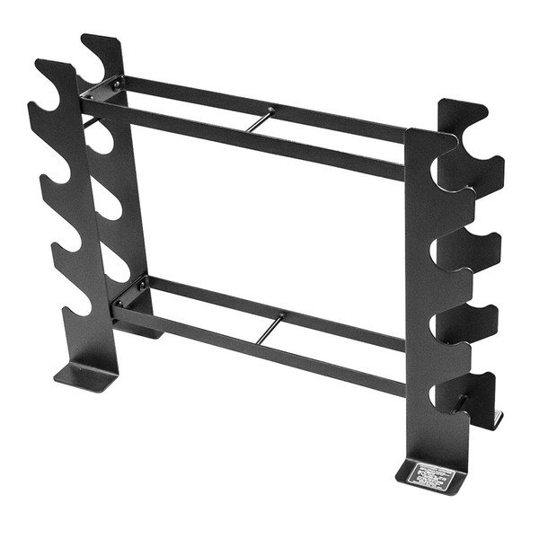 Compact Dumbbell Rack DBR-56 by Marcy has a slim design to save space