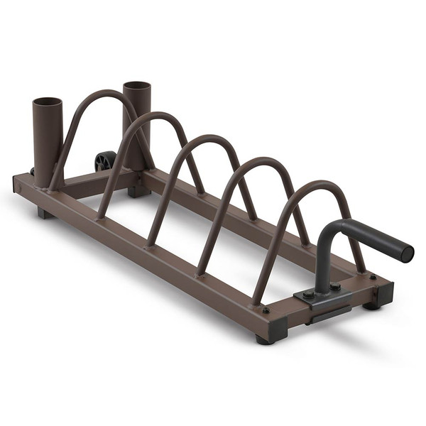Horizontal Plate Rack SteelBody STB-0130 saves space in your home gym