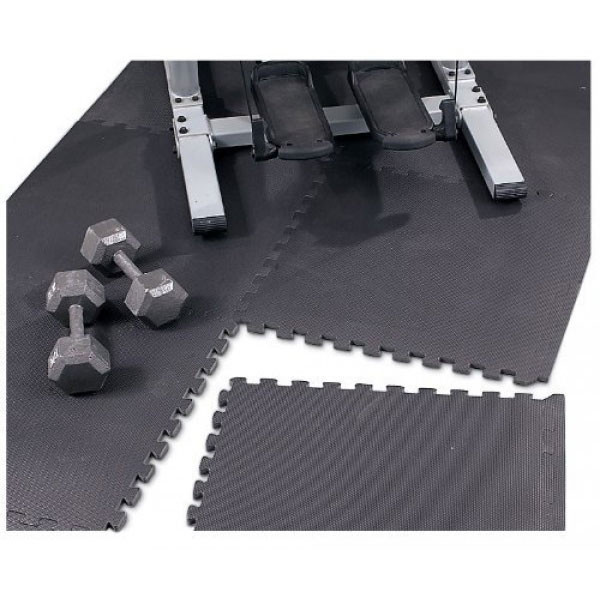 High Impact Flooring Marcy MAT-20 will protect your floor from weights and more