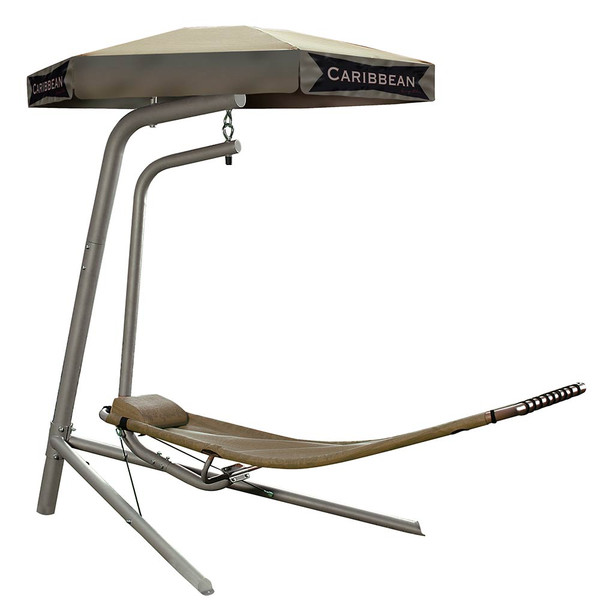 The Easy Outdoor Caribbean Rocking Lounge Chair GD-800 is durable and comfortable