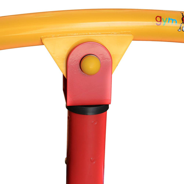 The  Gym Dandy Spinning Teeter Totter TT-360 Seesaw has a sturdy construction