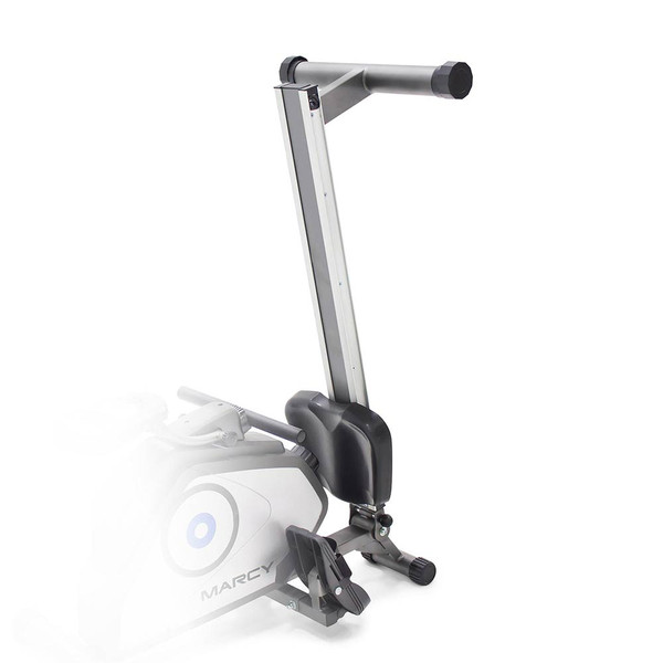 The Rowing Machine Marcy NS-40503RW folds to save space