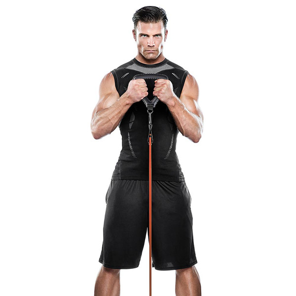 The Bionic Body BBTG-005 Tri-Grip Handle in use by model
