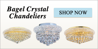 Bagel Crystal Chandeliers