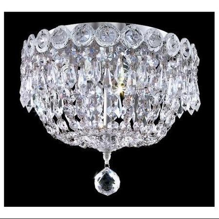 Empire Flush Mount Crystal Chandeliers KL 41037 109 C