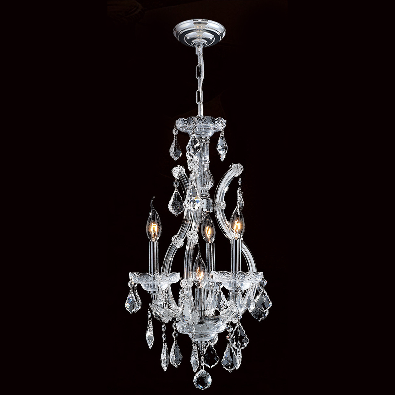 4 light maria theresa mini crystal chandeliers kl 41039 4 c