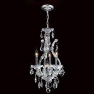 4 Light Maria Theresa mini crystal Chandeliers KL-41039-4-C