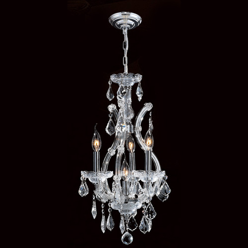 4 Light Maria Theresa mini crystal Chandeliers KL-41039-4-C