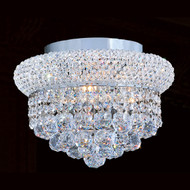 Bagel Crystal Flush Mount Light KL-41035-126-C