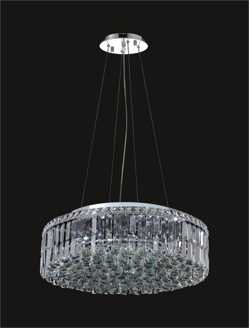 12 Light Modern Maxim Crystal Chandeliers 2030D24C