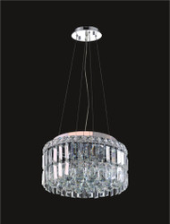 4 Light Modern maxim Crystal Chandeliers KL-41046-14