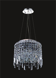4 Light Modern maxim Crystal Chandeliers KL-41048-12