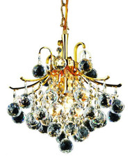 Contour Crystal Chandeliers KL-41038-1215-G