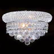 Crystal wall sconces empire style KL-41035-126-C