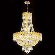 Empire crystal chandeliers KL-41037-16-G