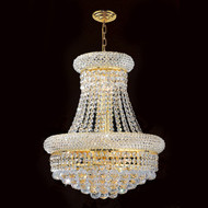 Bagel crystal chandeliers KL-41035-1620-G