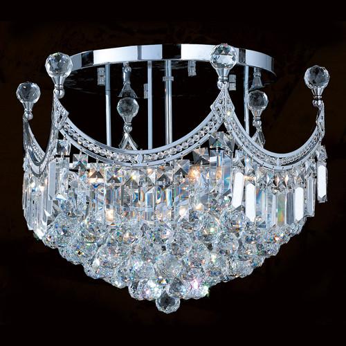 Royal crystal flush mount chandeliers KL-41042-20-C