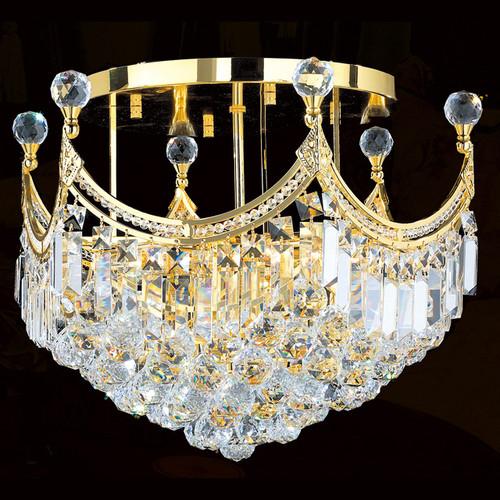 Royal crystal flush mount chandeliers KL-41042-20-G