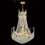 Royal Crystal chandeliers KL-41042-2432-G