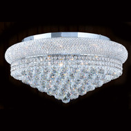 Bagel Crystal flush mount chandeliers KL-41035-2412-C