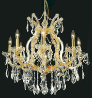 9 Light Maria Theresa crystal chandeliers KL-41039-26-G