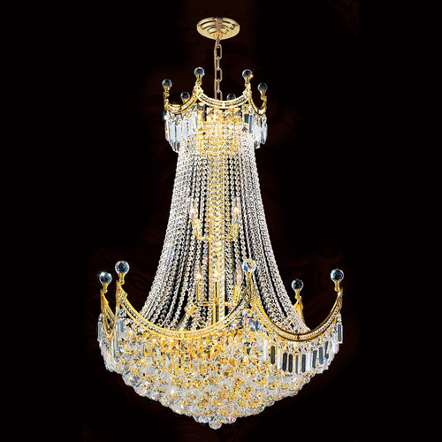 Royal Crystal Chandeliers KL-41042-3040-G