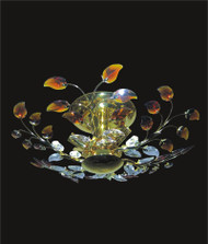 Leaf Of Crystal Chandelier KL-41051-246-G