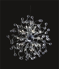 Spider crystal chandelier KL-41050-2424-C ball