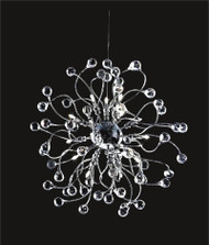 Spider crystal chandelier KL-41050-2222-C Ball